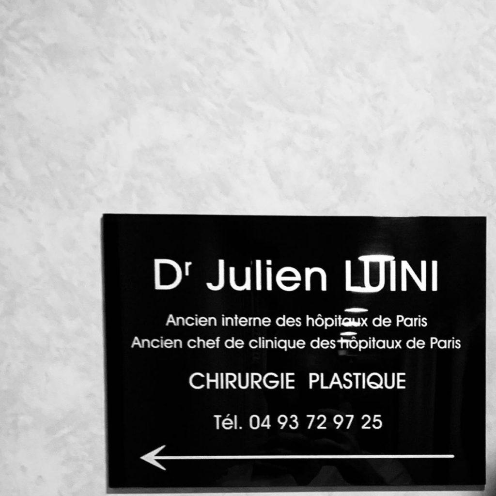 Docteur Luini chirurgien esthétique Cabinet de Cagnes sur mer